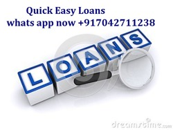 QUICK AND AFFORDABLE LOAN FOR YOU
