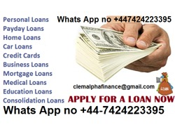 URGENT LOAN OFFER TO SETTLE YOUR BILL AND PERSONAL USE