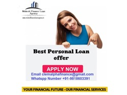 PERSONAL LOAN UP TO 3 OF INCOME